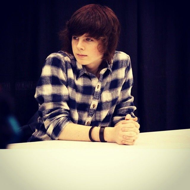 Chandler Riggs- Lets see how many pins this sexy riggs can get.
