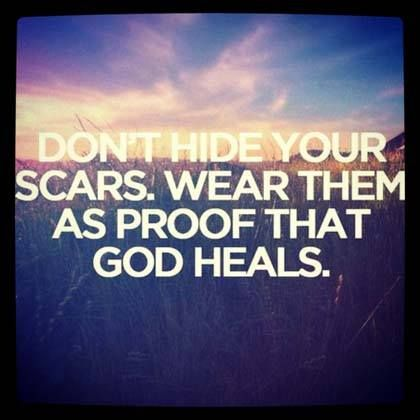 ❥ Show the world that God heals!