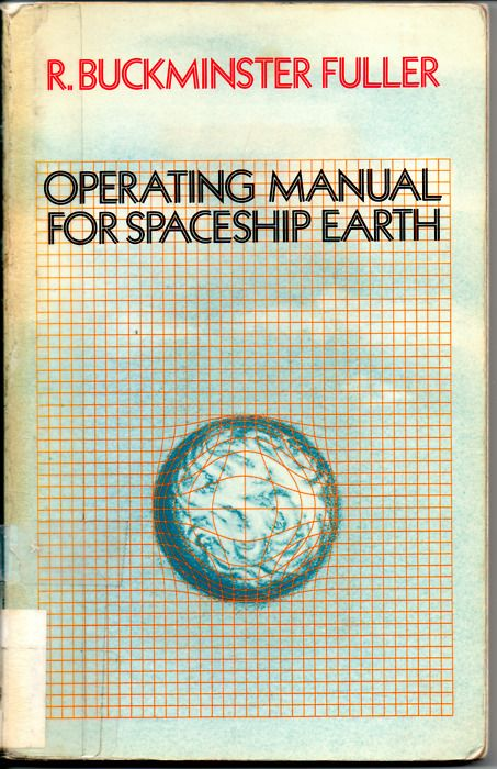 Operating manual for spaceship earth is a short book by R. Buckminster Fuller, first published in 1968, following an address with a similar title given to the 50th annual convention of the American Planners Association in Washington D.C., October 16 1967. PCOTThe book relates Earth to a spaceship flying through space. The spaceship has a finite amount of resources and cannot be resupplied. Fuller would later partner with the Walt Disney Co to consult on an attraction at EPCOT Center.