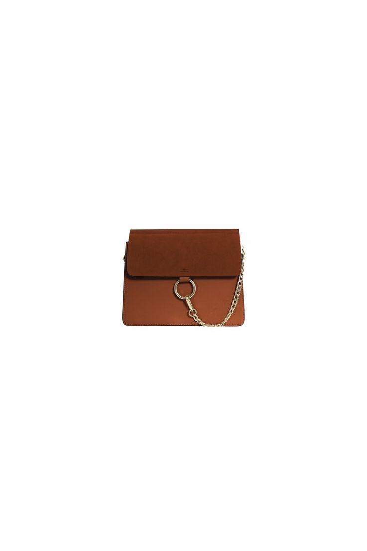SHERO Bi-Color Leather And Suede Shoulder Bag - Large $89