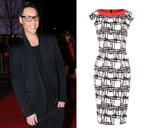 Wedding guest outfit tips from Gok Wan, 2013