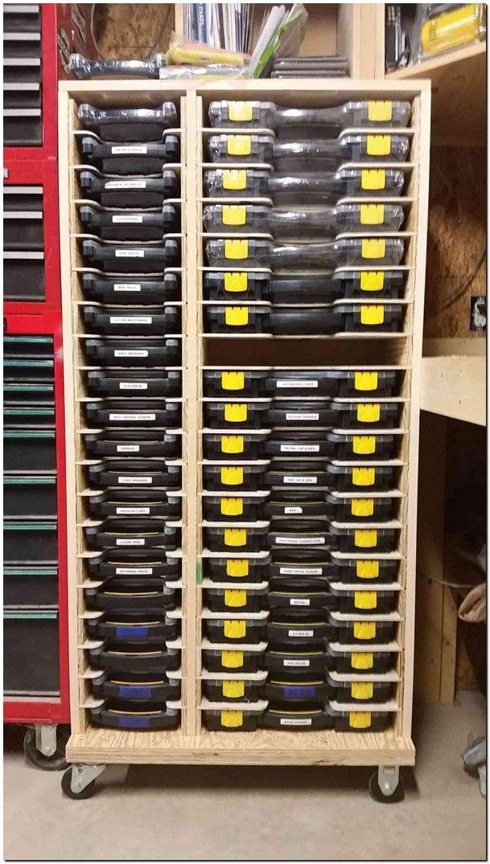 30 Dreamy And Simply Garage Storage Organization Ideas Solve Your Clutter Rangement Outils Rangement Maison Rangement Atelier