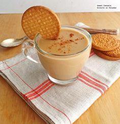 Receta de atole con galletas María. Con fotos del paso a paso y consejos de degustación. Una receta de una bebida caliente...