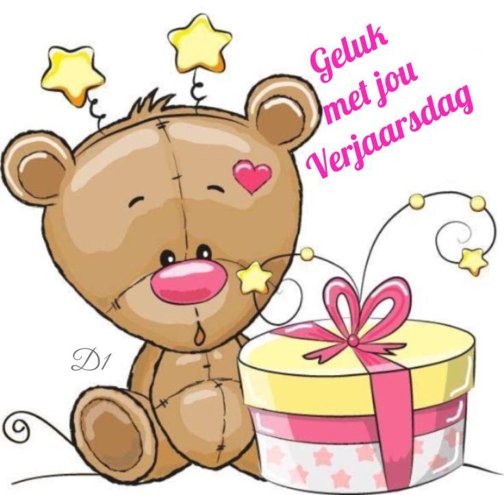 Geluk met jou Verjaarsdag