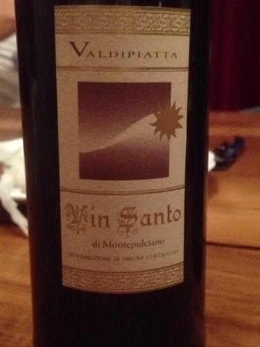 #Valdipiatta Vin Santo di #Montepulciano U.V.