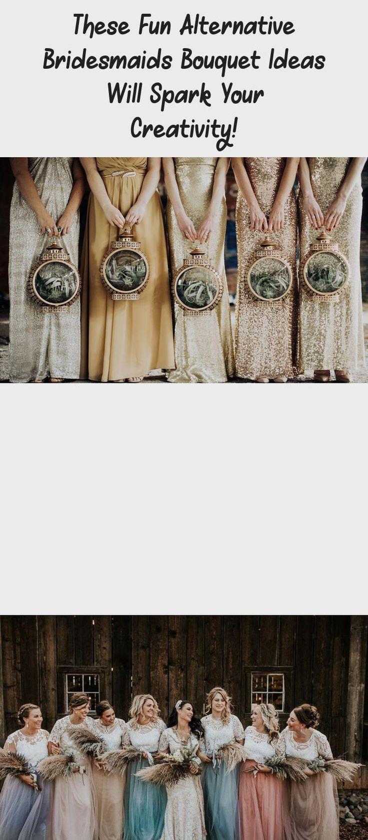 These Fun Alternative Bridesmaids Bouquet Ideas Will Spark Your Creativity! - Green Wedding Shoes #GrayBridesmaidDresses #SimpleBridesmaidDresses #CasualBridesmaidDresses #BridesmaidDressesSummer #SageBridesmaidDresses