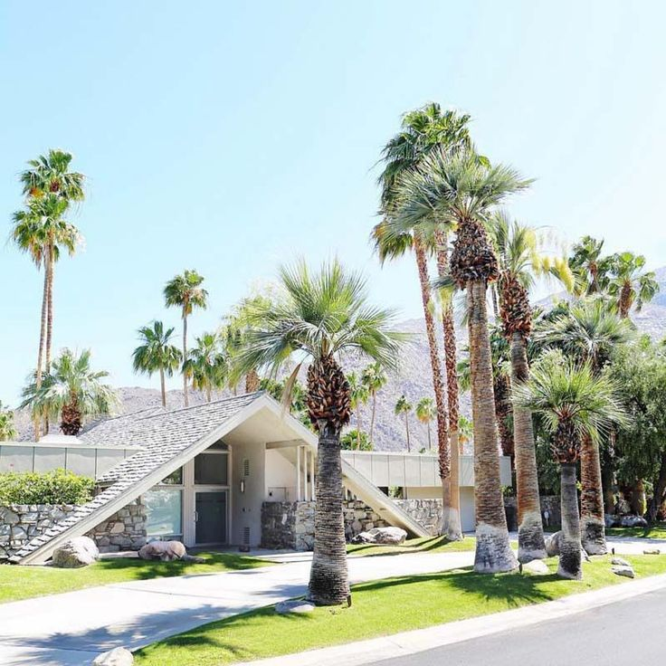 California Map Rancho Mirage%0A Swiss Miss AFrame Houses in Palm Springs  kellygolightly  list of places to