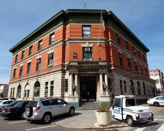 P062 NYPD Police Station Precinct 62, Bensonhurst, Brooklyn, New York City