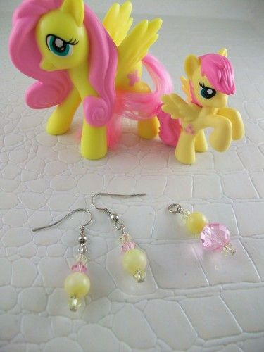 Fluttershy Cosplay Jewelry Set My Little Pony Friendship is Magic | SGalindoDesign - Jewelry on ArtFire