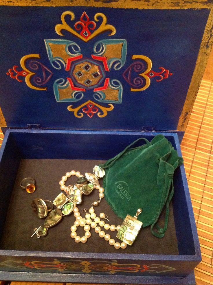 Jewelry box. Olga Ah