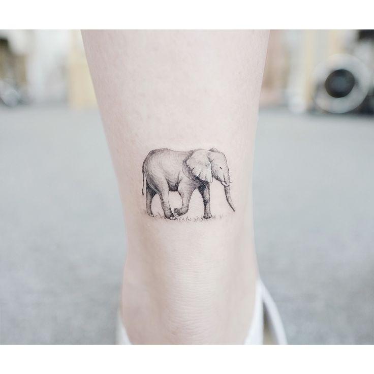 : Elephant 🐘. . #tattooistbanul #tattoo #tattooing #elephant #elephanttattoo #blacktattoo # Tattoos Needles # Tattoos # Elephant Tattoos #