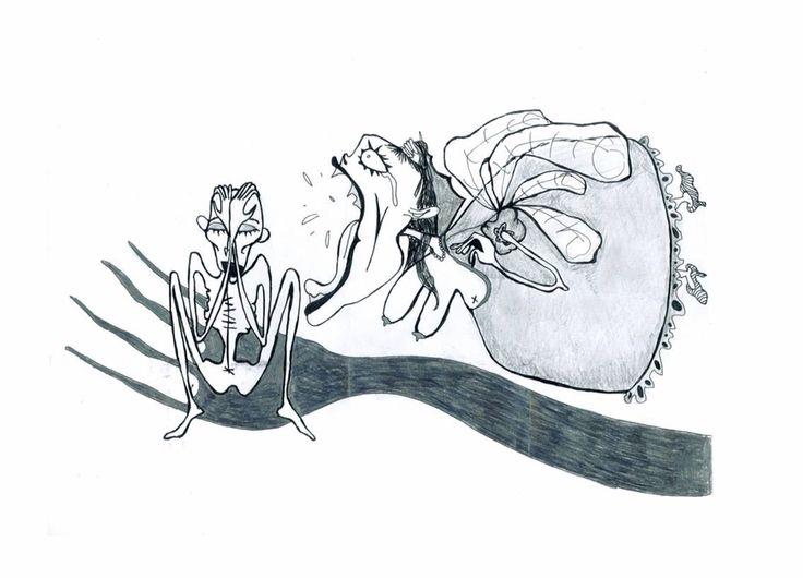 Black&white creatures by Irene Matarrodona (2008)