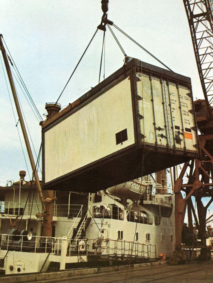 container ship from BradyHamilton Stevedore. Port of