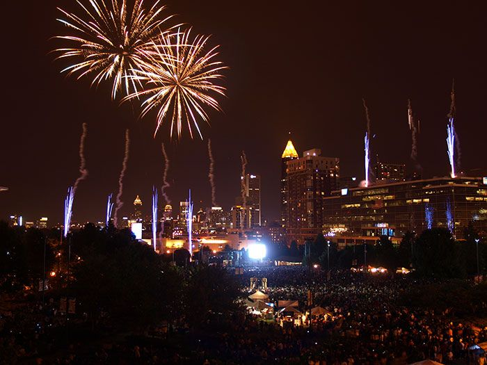 july 4th atlanta georgia