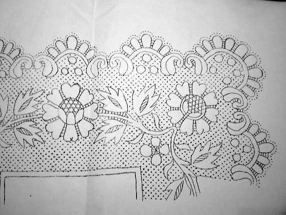 Asociación de Bolillos Baeca: Picado de pañuelo