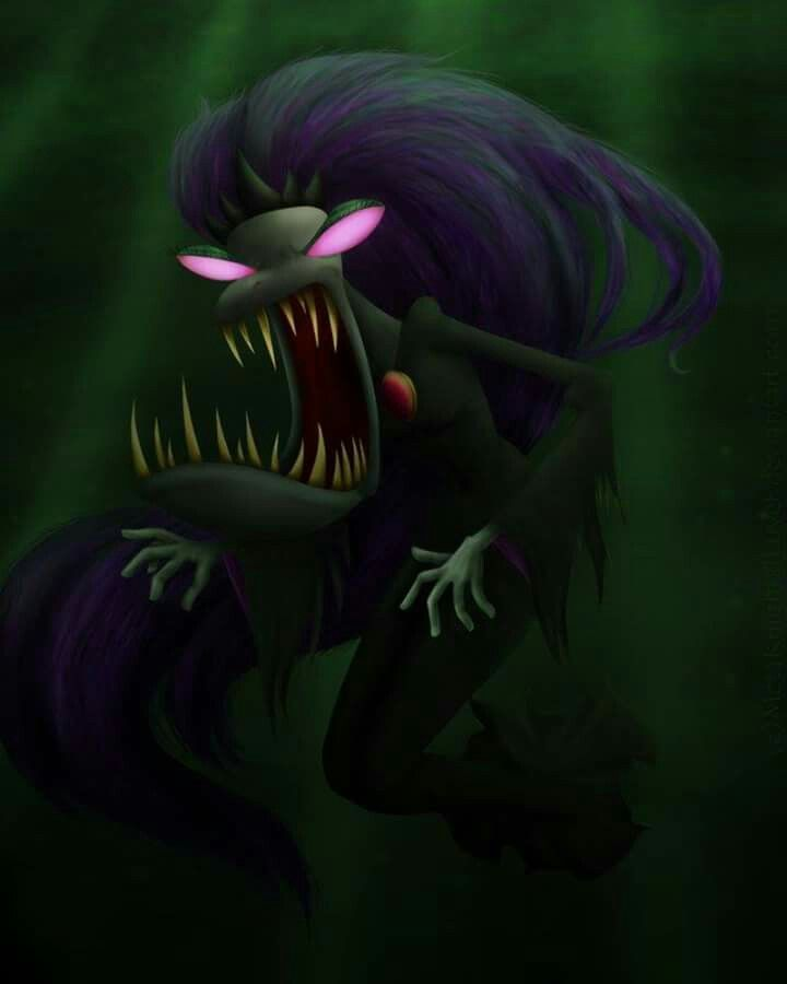 courage the cowardly dog black puddle queen poison ivy