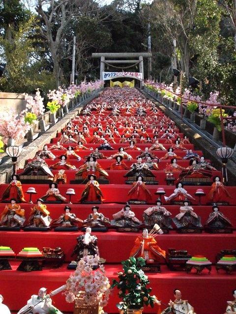 Japanese doll festival Girl's Day Doll's Festival ひな祭り