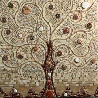 Tree of Life Mosaic ~ by Kicosaic
