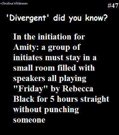 22 Hilarious Images Only 'Divergent' Fans Will Understand not true but funny
