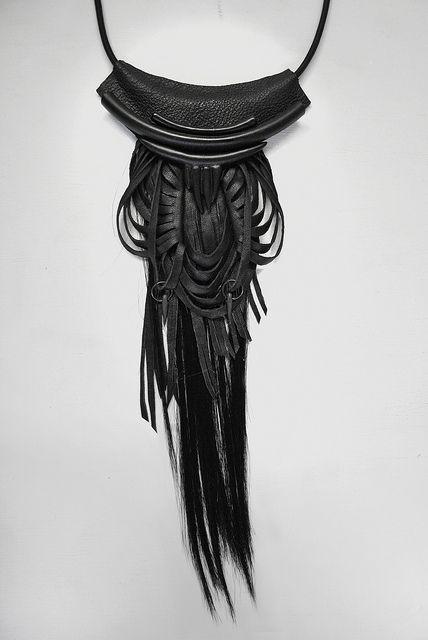 black on black detail