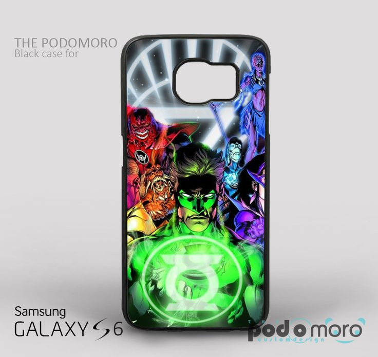 Green Lantern for iPhone 4/4S, iPhone 5/5S, iPhone 5c, iPhone 6, iPhone 6 Plus, iPod 4, iPod 5, Samsung Galaxy S3, Galaxy S4, Galaxy S5, Galaxy S6, Samsung Galaxy Note 3, Galaxy Note 4, Phone Case