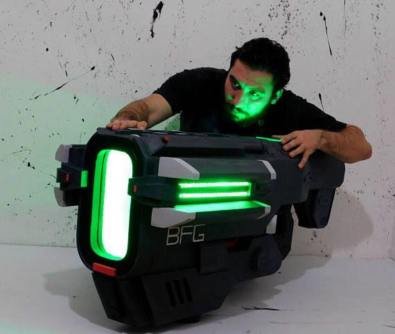 BFG 9000 DOOm cosplay prop | Game / tv room / movie room