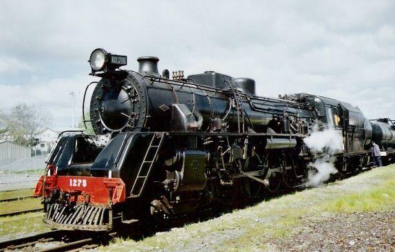 Mainline Steam Excursions - Most viewed/Ja1275 at Putaruru.