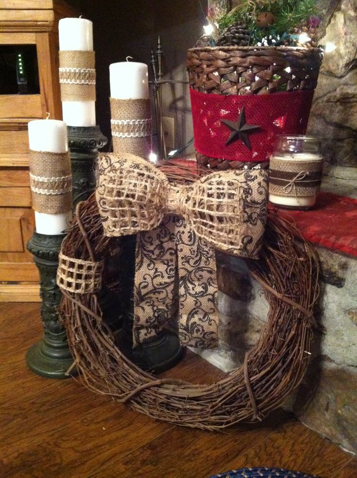 craft ideas with burlap 60 best ideas about grapevine wreaths on 3964