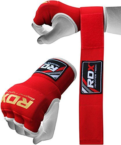 Authentic RDX Inner Hand Wraps Gloves Boxing Fist Padded Bandages MMA Gel Muay Thai Kick R: Amazon.co.uk: Sports & Outdoors