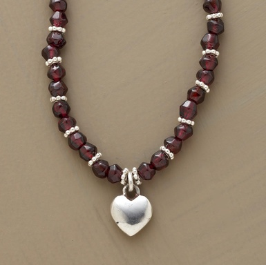 Garnets and silver! :)