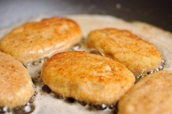 Куриные котлеты с сыром