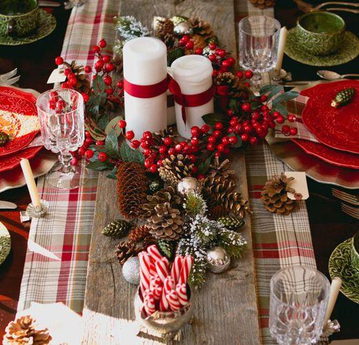 Ιδέες Για Τον Στολισμό Του Χριστουγεννιάτικου Τραπεζιού Vol.2