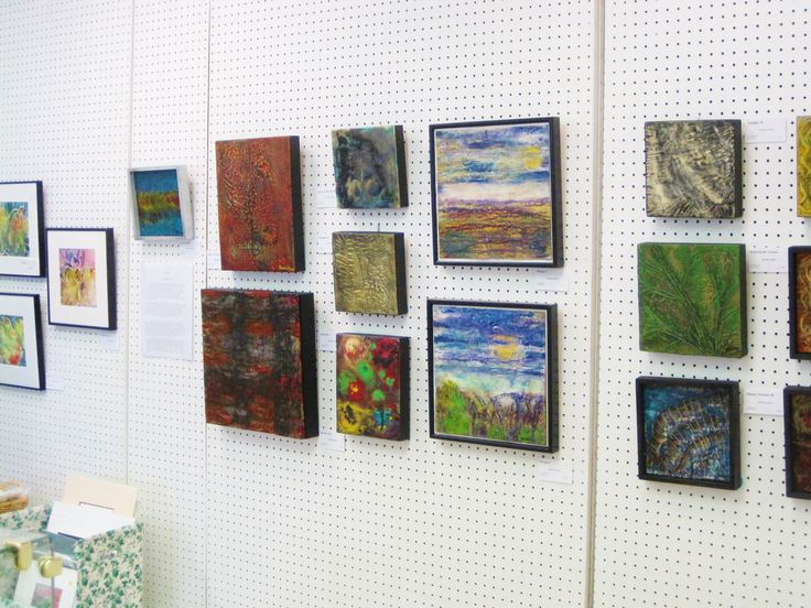 Popular new encaustic paintings, Edmonton, Canada