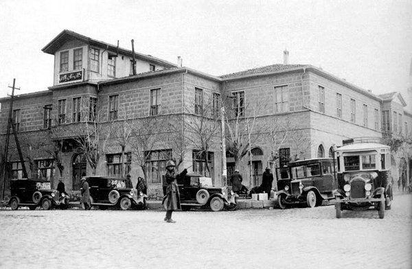 Ankara Taşhan Hacı Bayram Mahallesi.