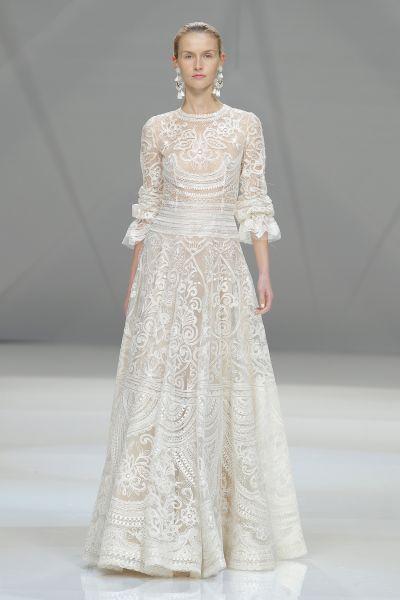 Vestidos de novia línea A 2017: 40 diseños para lucir una figura estilizada y entallada Image: 30