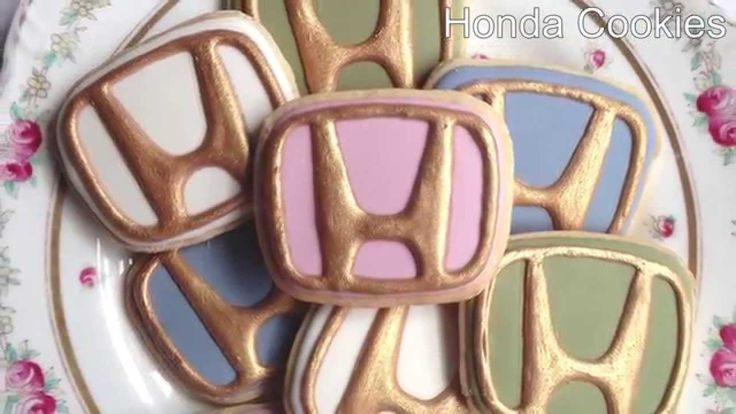 Some people really love their #Honda! Honda Cookies!