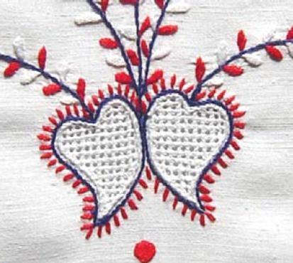 Bordado de Viana - Corações  Viana do Castelo embroidery #Portuguese
