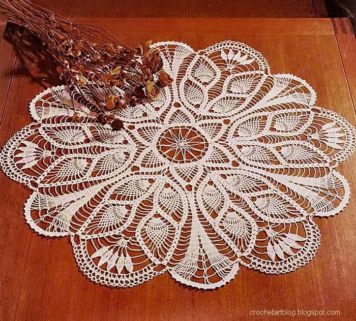 Best 25+ Crochet Tablecloth Pattern ideas on Pinterest ...