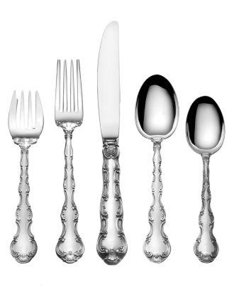 gorham strasbourg sterling silver flatware collection