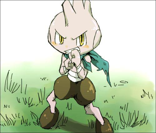 Tyrogue #236   To Be A Master   Pinterest   Pokémon  Hitmonlee Gijinka Female
