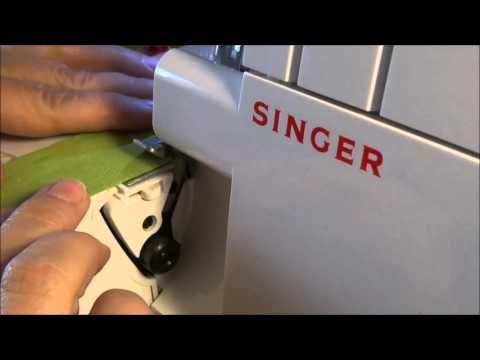 yo elijo coser: Cómo regular el largo y el ancho de la costura en un remalladora/overlock Singer básica