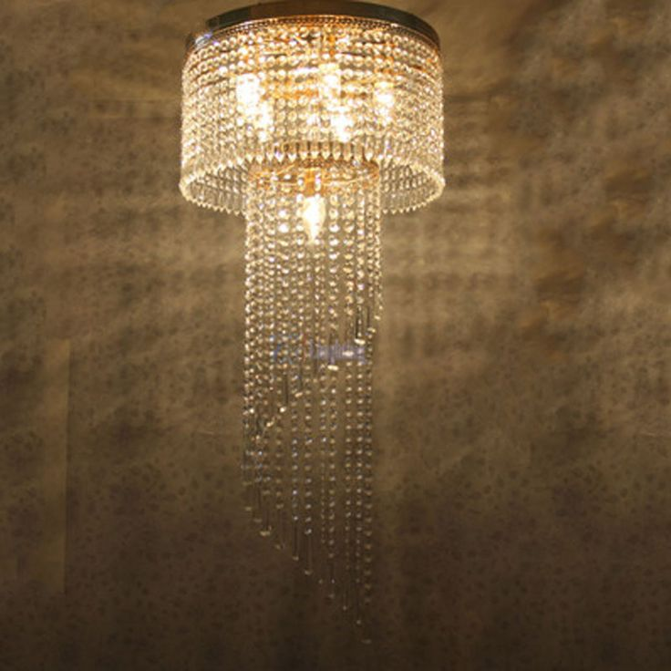 ==> [Free Shipping] Buy Best LED Crystal Pendant Light Circular Large Luxury Modern Fashion Living Room Lamps Restaurant Penthouse Floor Hall Stairs Light Online with LOWEST Price | 32812601201