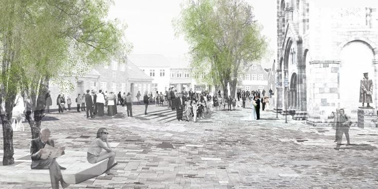 Ribe-Cathedral-Square-by-Schonherr-Landscape_Architecture-11 « Landscape Architecture Works | Landezine