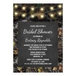 Hunting Camo Chalkboard Bridal Shower Invitations