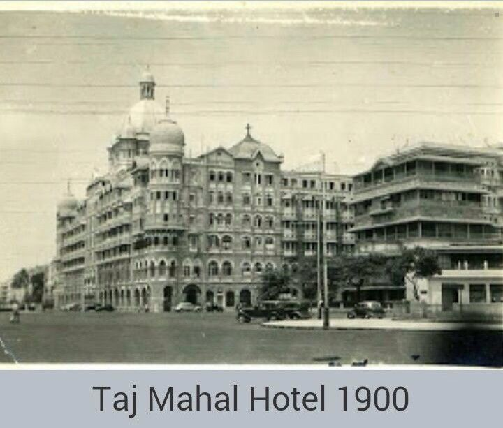 Taj mahal hotel Mumbai 1900