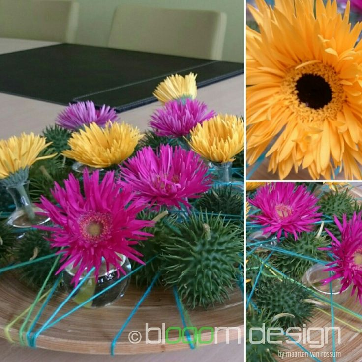 Table decoration Created byBlooom Design by Maarten vanRossum