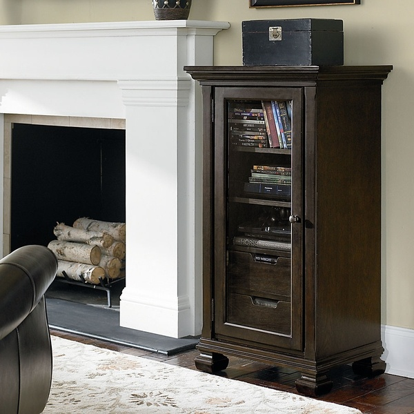 Stand for TV. The storage area works out perfectly for the dvd player, cable box and all the extras.