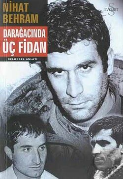 A Turkish book about the trial of Deniz Gezmis and his friends by the government.