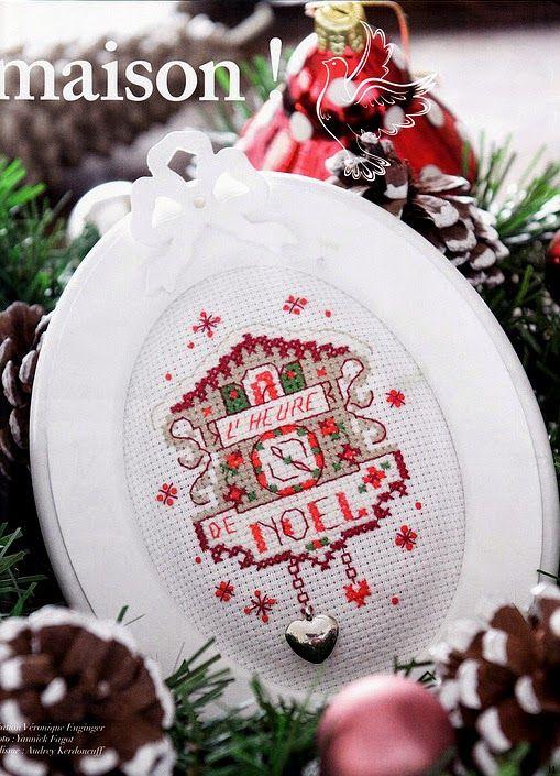 """Милые сердцу штучки: Вышивка крестом: """"Новый год от парижанок (LBP)"""" (продолжение)"""
