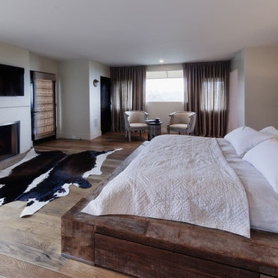 Attractive Make Caleb A Bed With Railroad Ties Hollywood Hills Masterbedroom    Eclectic   Bedroom   Los
